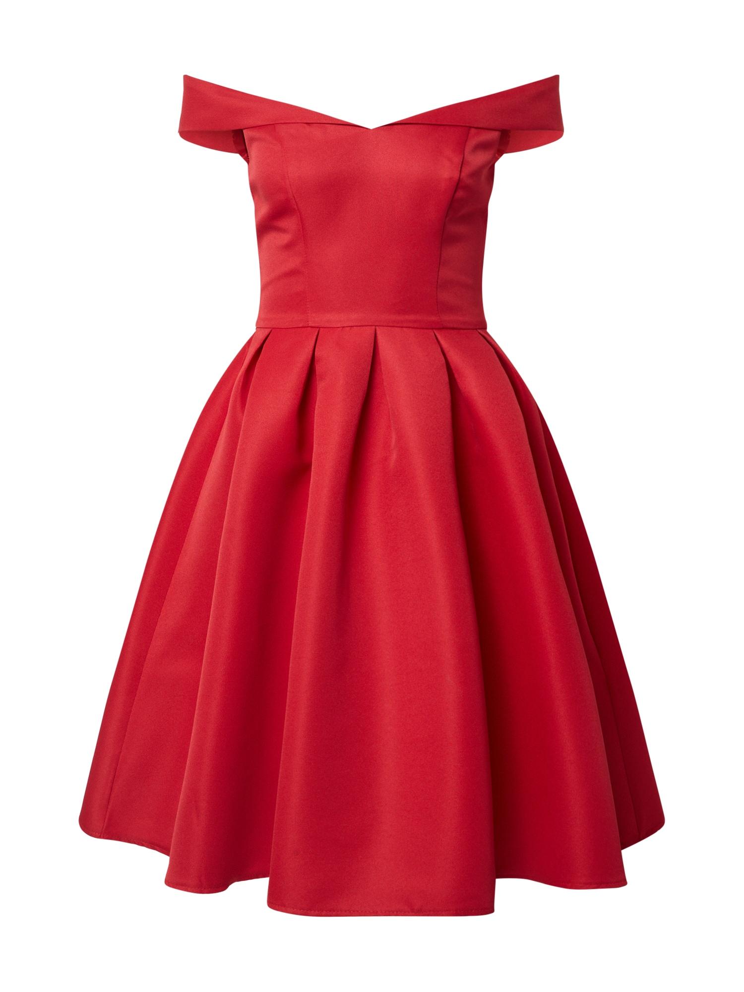 Chi Chi London Kokteilinė suknelė 'Jade' raudona