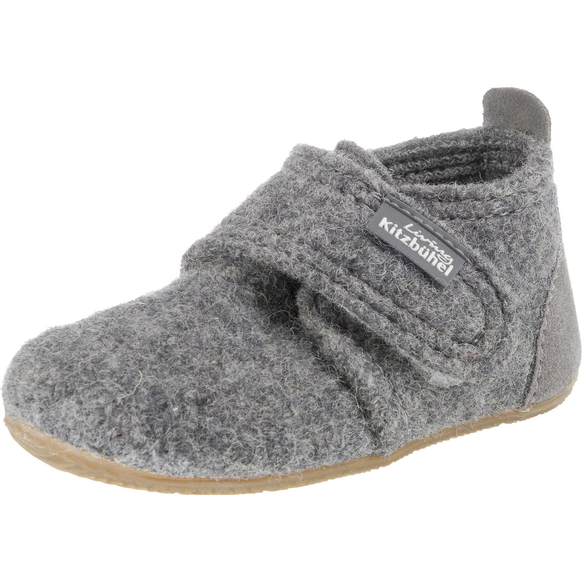 Pantofle šedý melír Living Kitzbühel