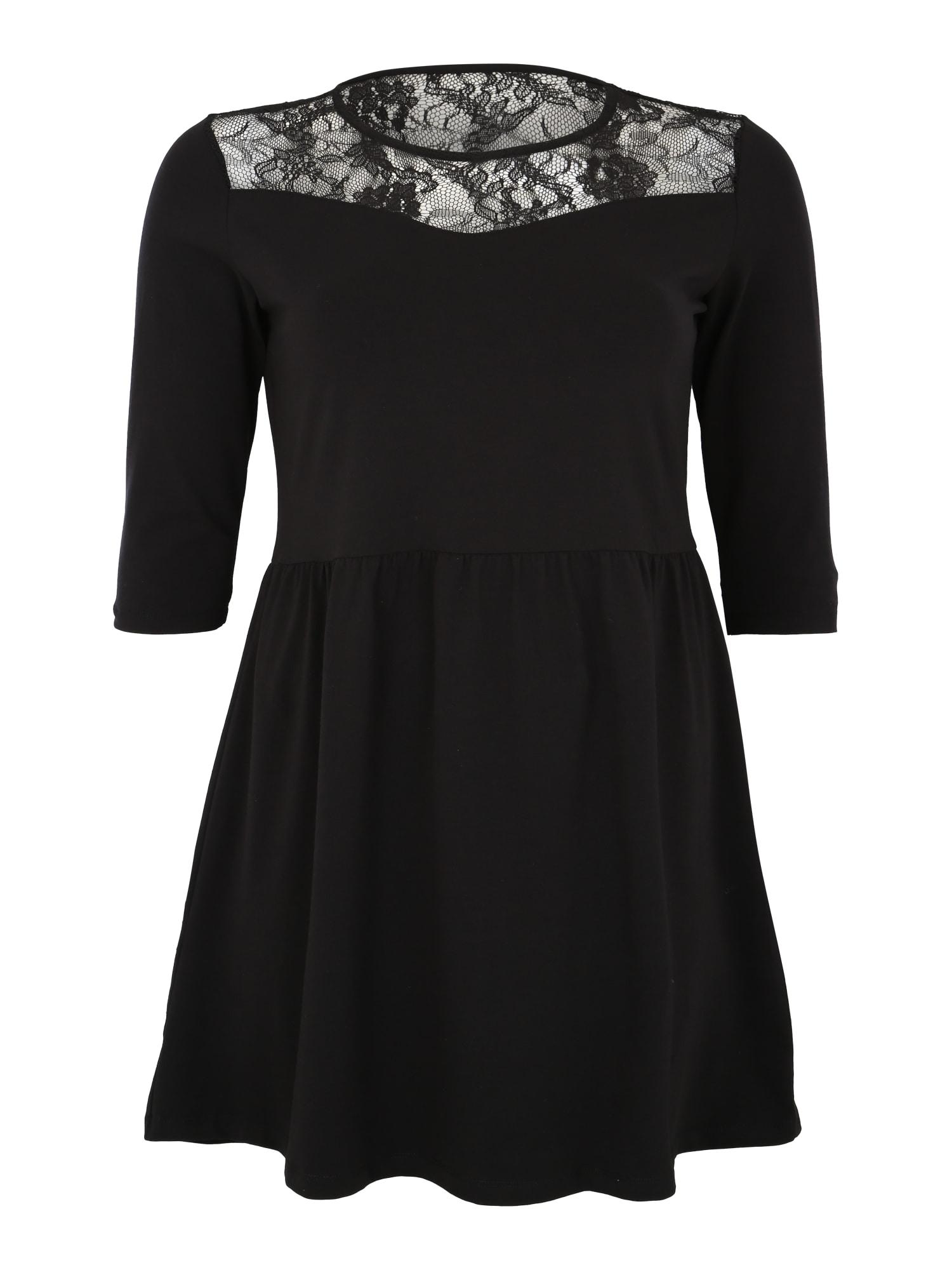 Šaty černá ONLY Carmakoma
