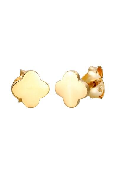 Ohrringe für Frauen - Ohrringe Ohrstecker Geo, Kleeblatt › ELLI › gold  - Onlineshop ABOUT YOU
