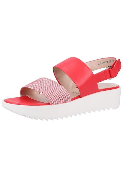 Sandalen für Frauen - PETER KAISER Sandalen altrosa rot weiß  - Onlineshop ABOUT YOU