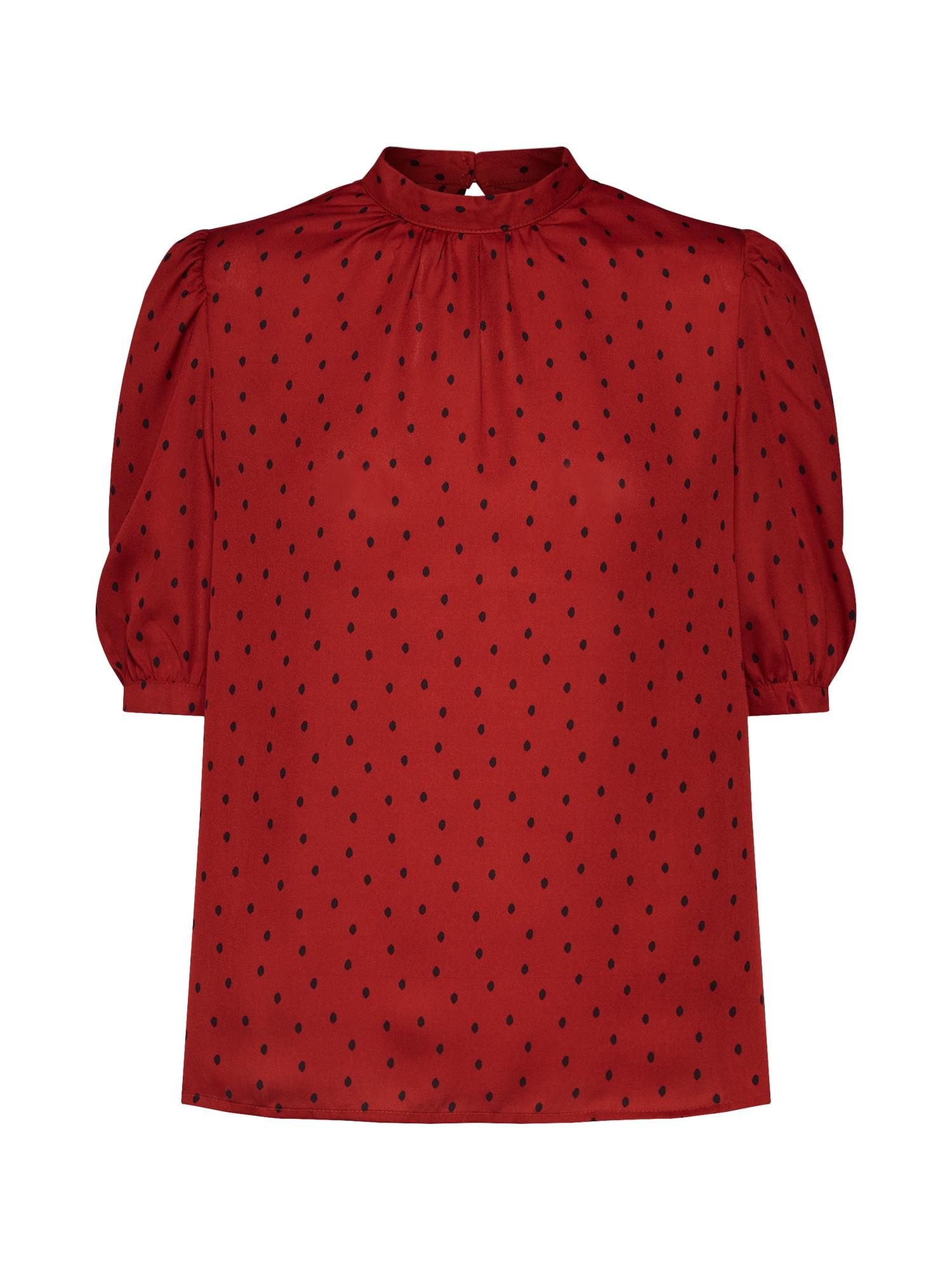 Halenka RON oranžově červená Fashion Union
