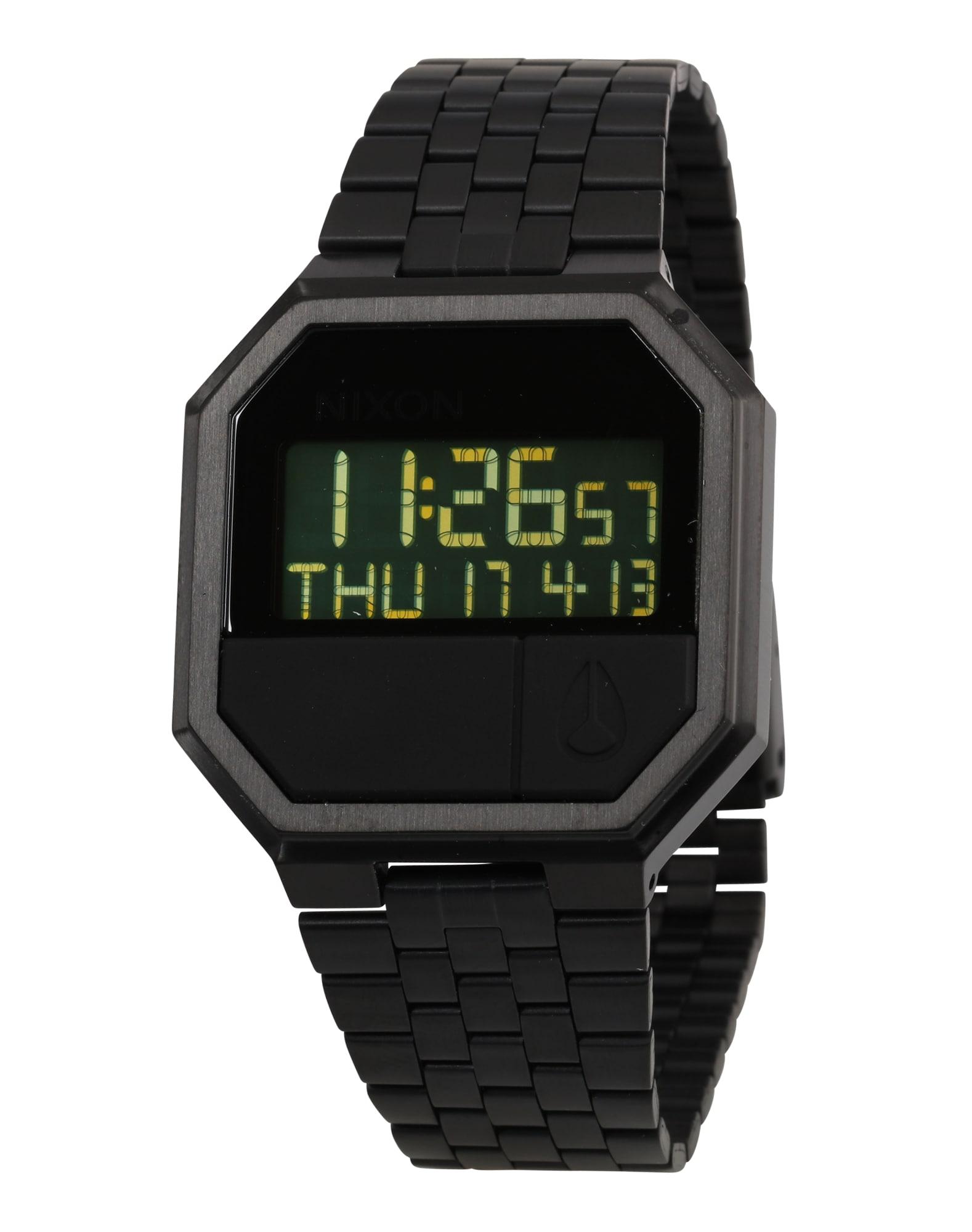 Digitální hodinky Re-Run schwarz Nixon