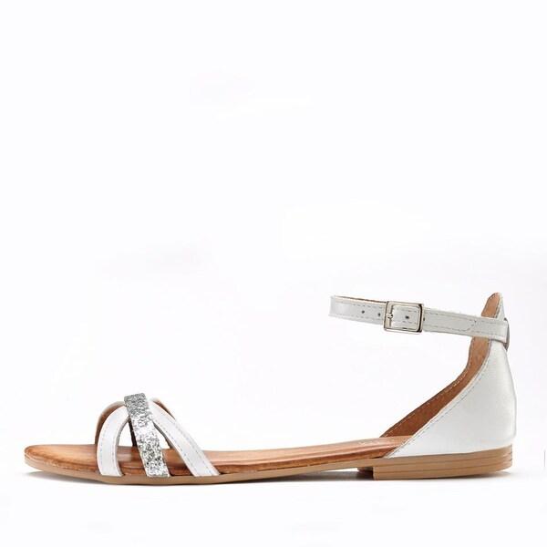 Sandalen - Sandale › Lascana › hellbeige naturweiß  - Onlineshop ABOUT YOU