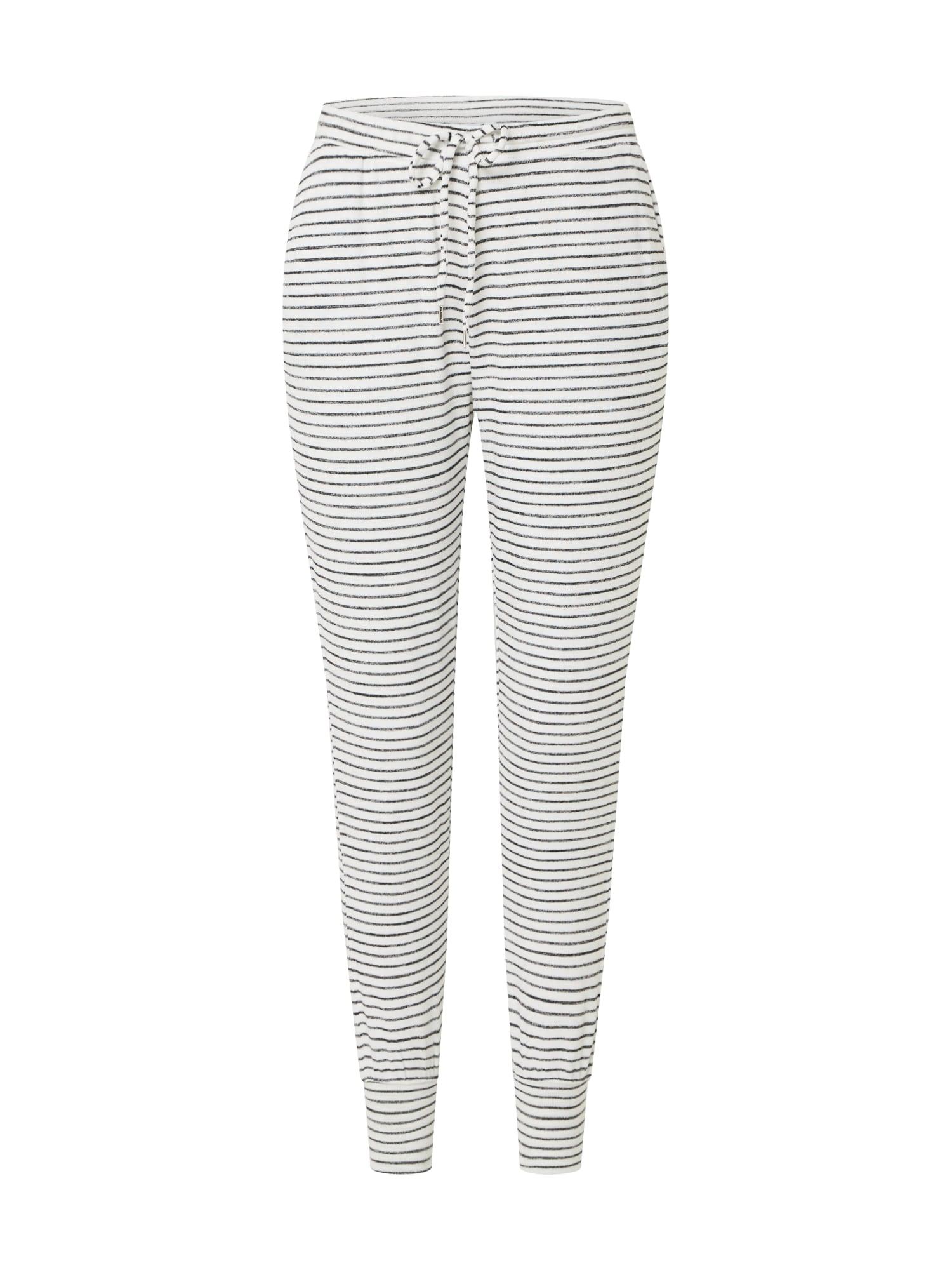 GAP Kalhoty  bílá / černá