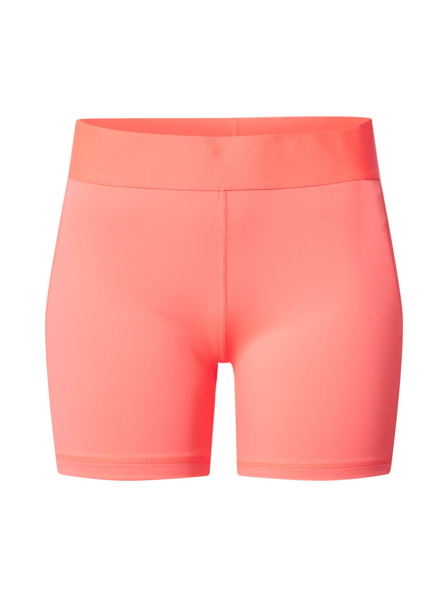 ADIDAS PERFORMANCE Športové nohavice  ružová / biela