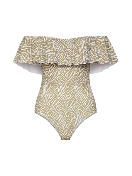 Bademode für Frauen - CATWALK JUNKIE Badeanzug 'SAFARI' sand weiß  - Onlineshop ABOUT YOU