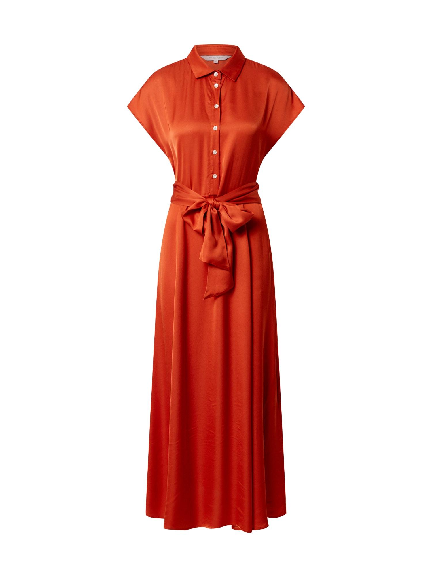 Part Two Košeľové šaty 'Dita'  oranžová
