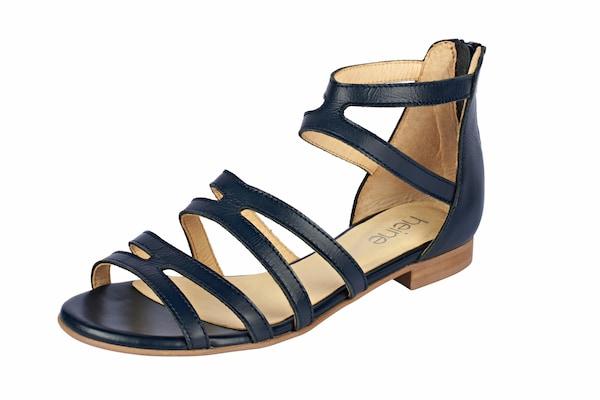 Sandalen für Frauen - Heine Sandalette mit Fesselriemchen marine  - Onlineshop ABOUT YOU