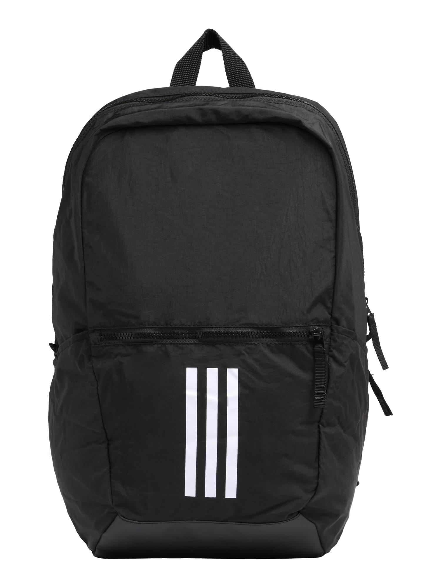 Sportovní batoh PARKHOOD WND černá bílá ADIDAS PERFORMANCE