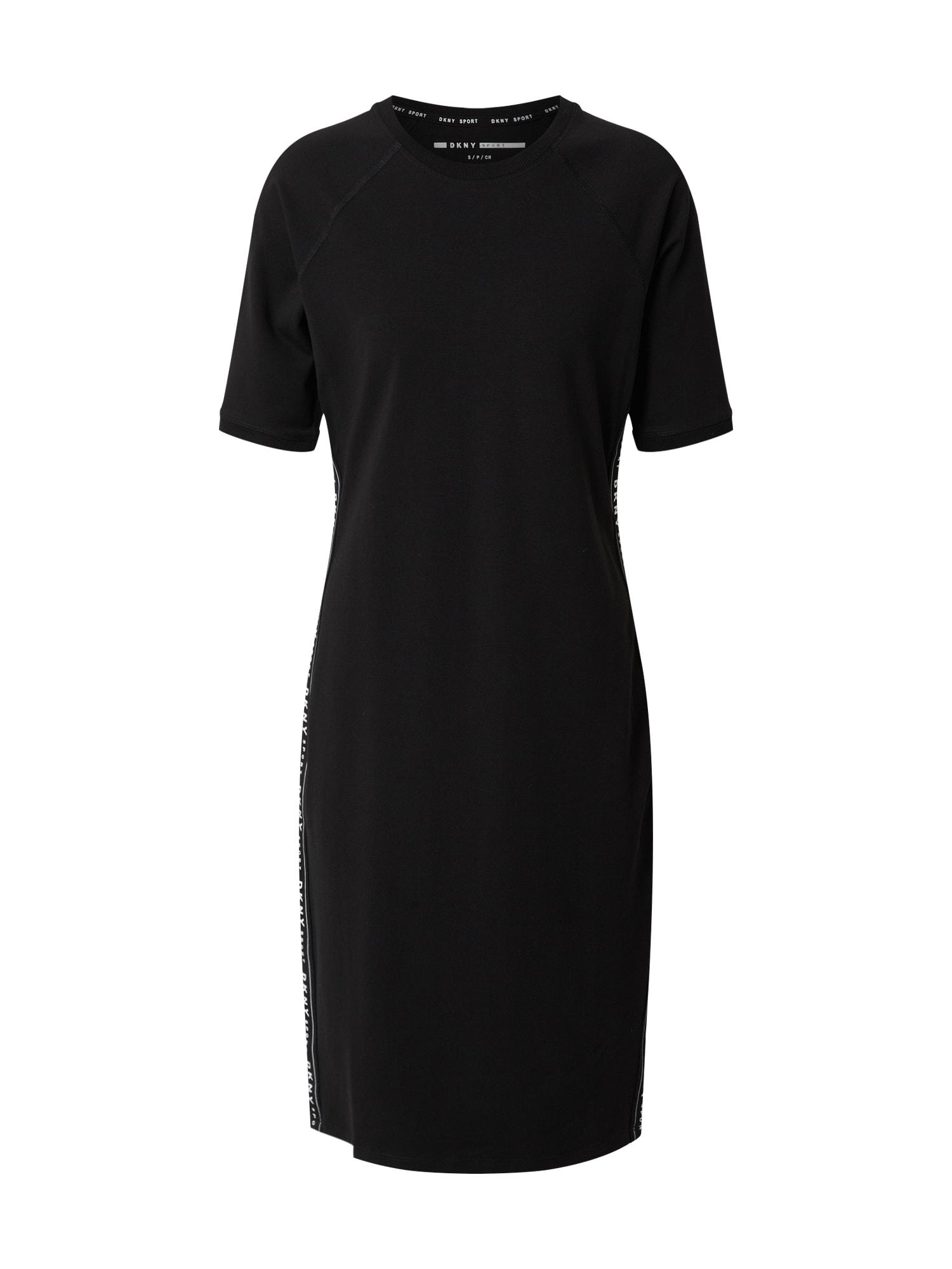 DKNY Performance Šaty  čierna