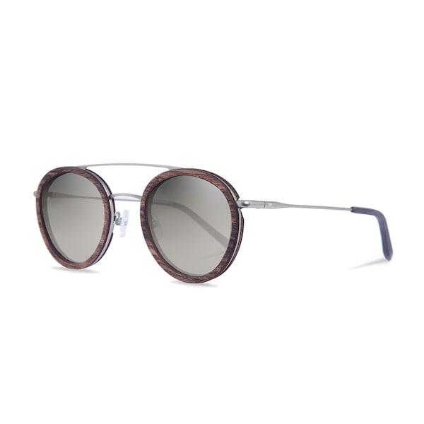 Sonnenbrillen für Frauen - Kerbholz Sonnenbrille 'Berthold' braunmeliert silber  - Onlineshop ABOUT YOU