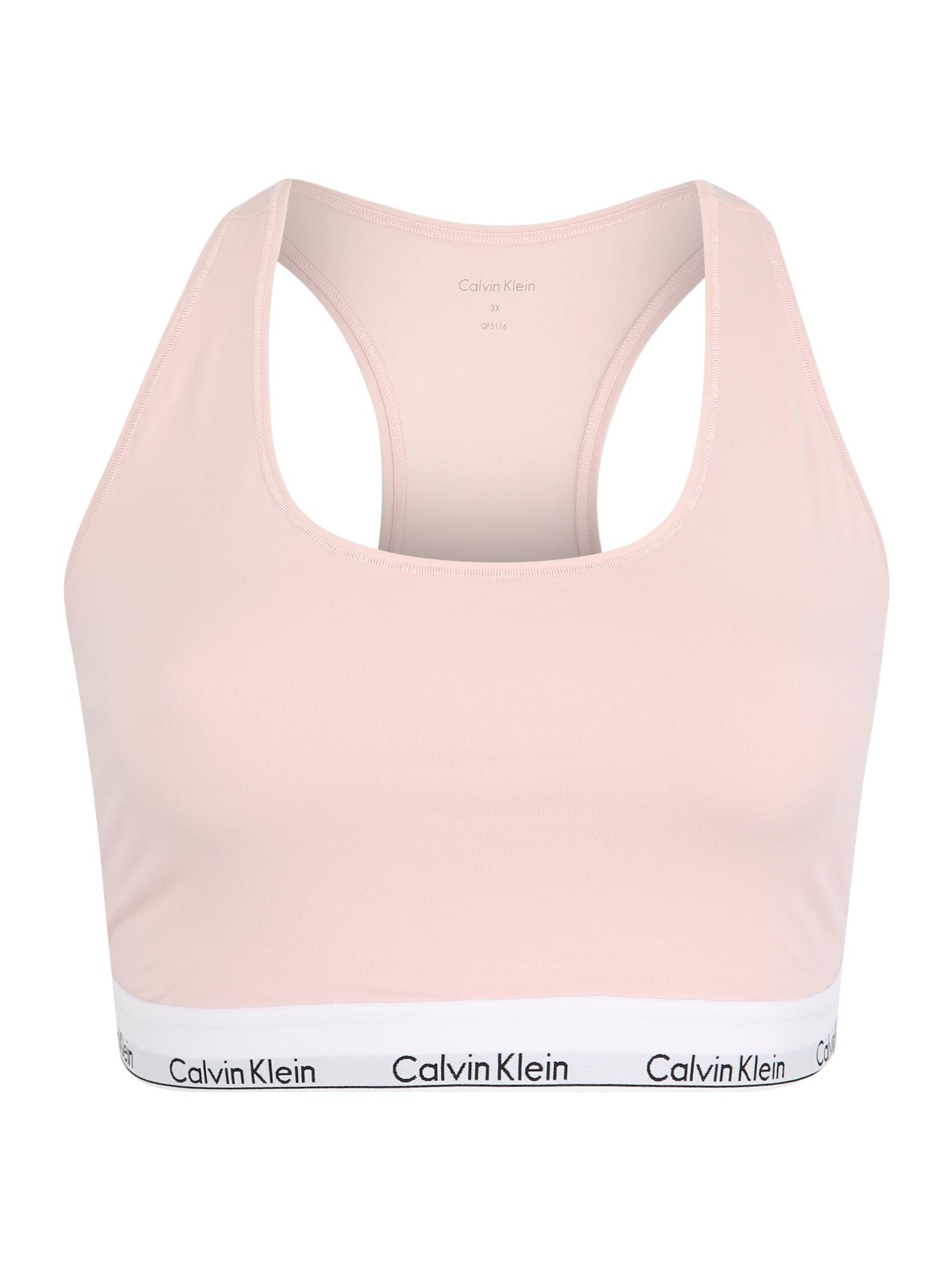 Podprsenka UNLINED BRALETTE růžová Calvin Klein Underwear