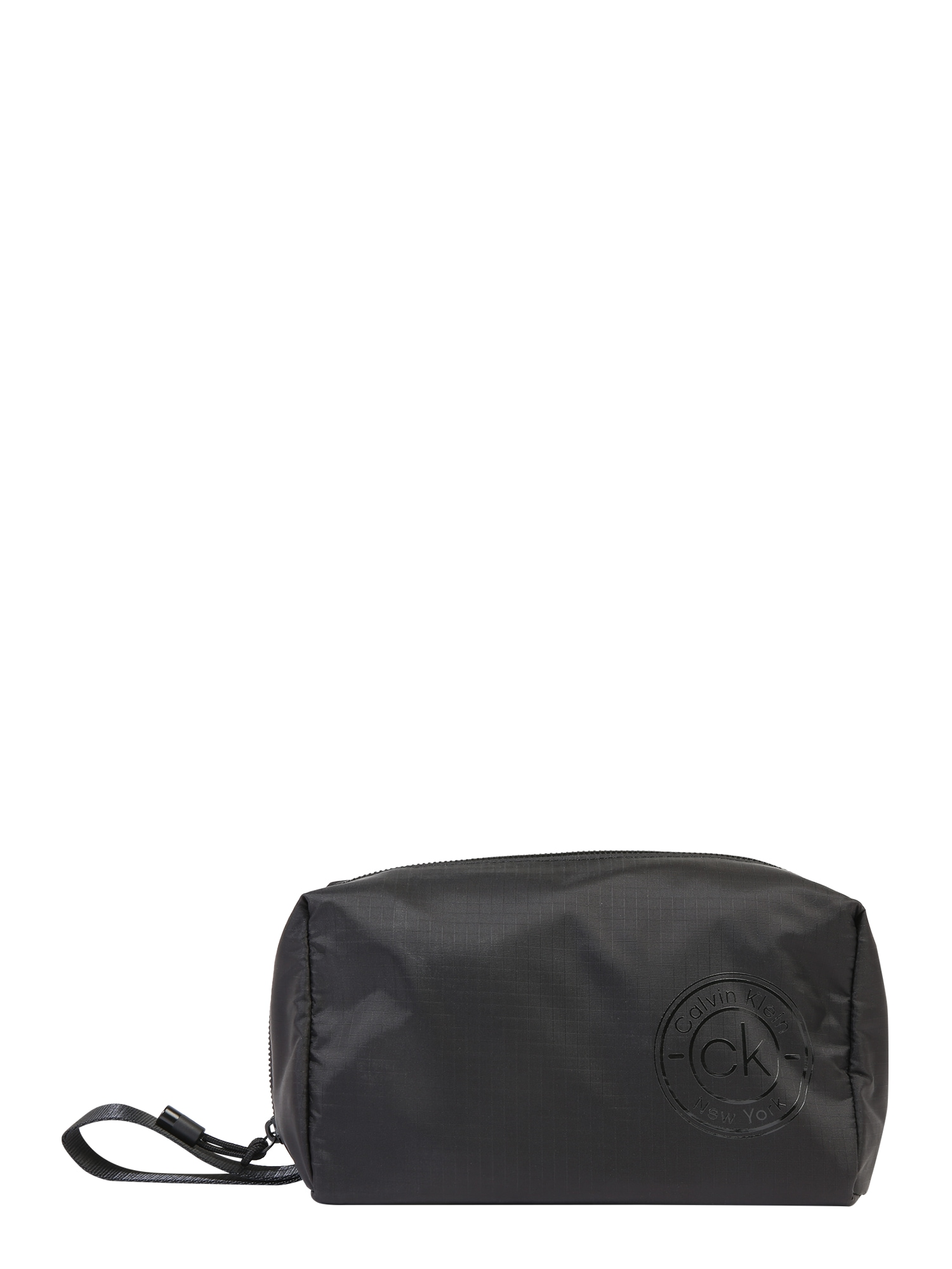 Calvin Klein Plovimo krepšys 'CK AVAILED' juoda