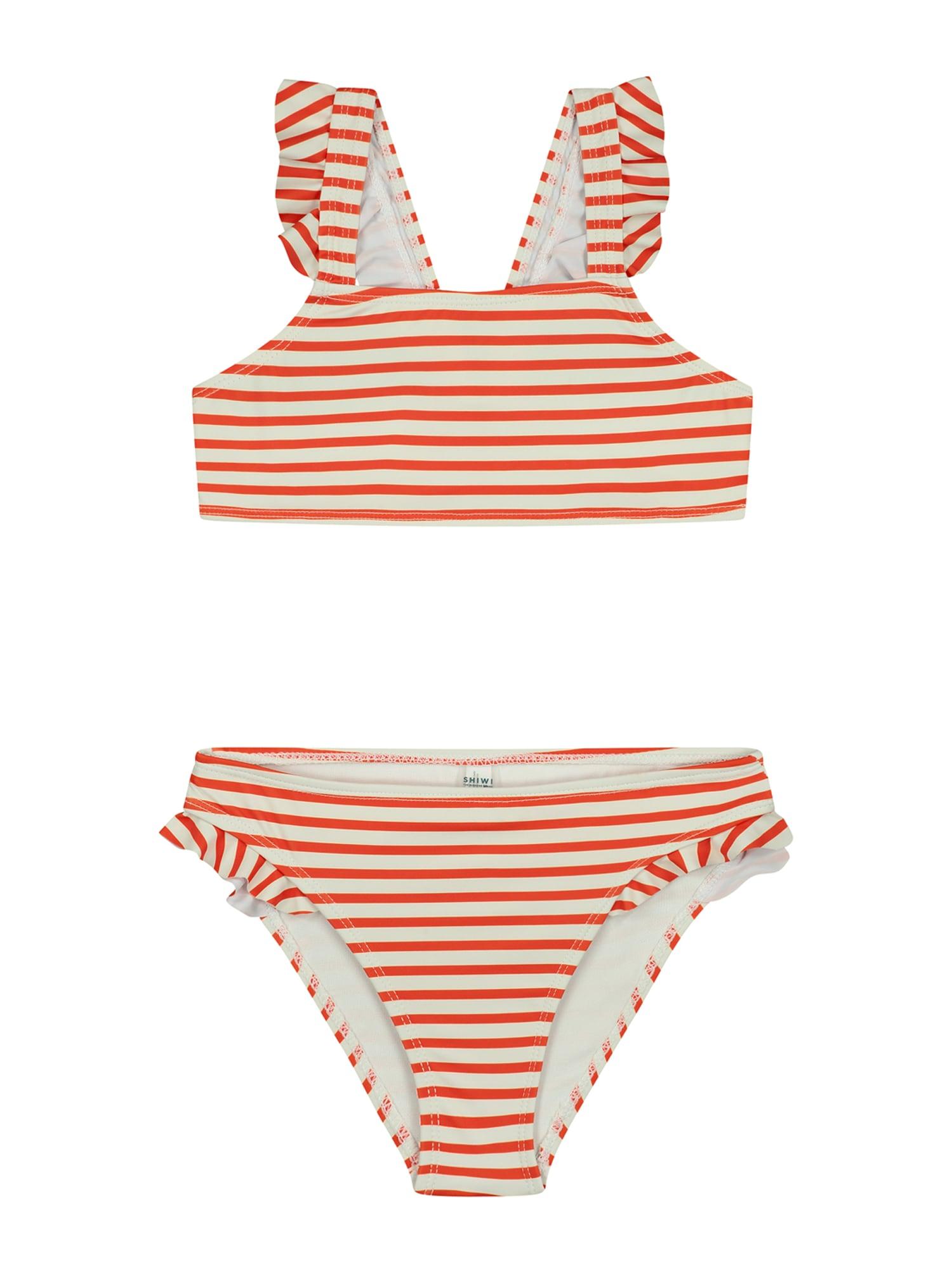Shiwi Bikinis raudona / balta