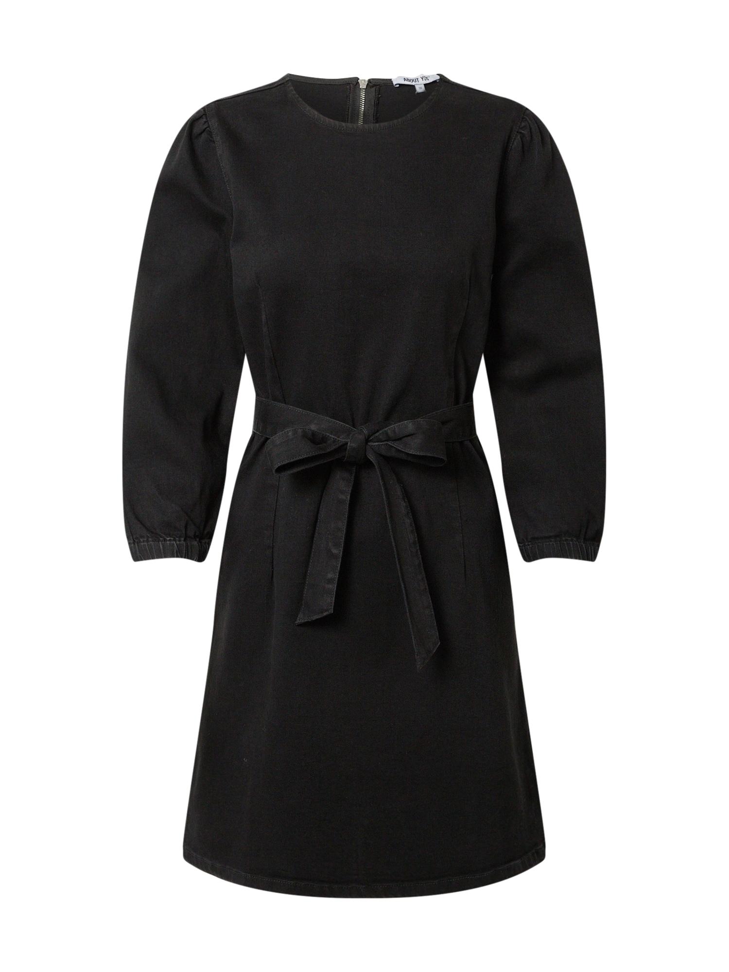 ABOUT YOU Šaty 'Heidi'  čierny denim