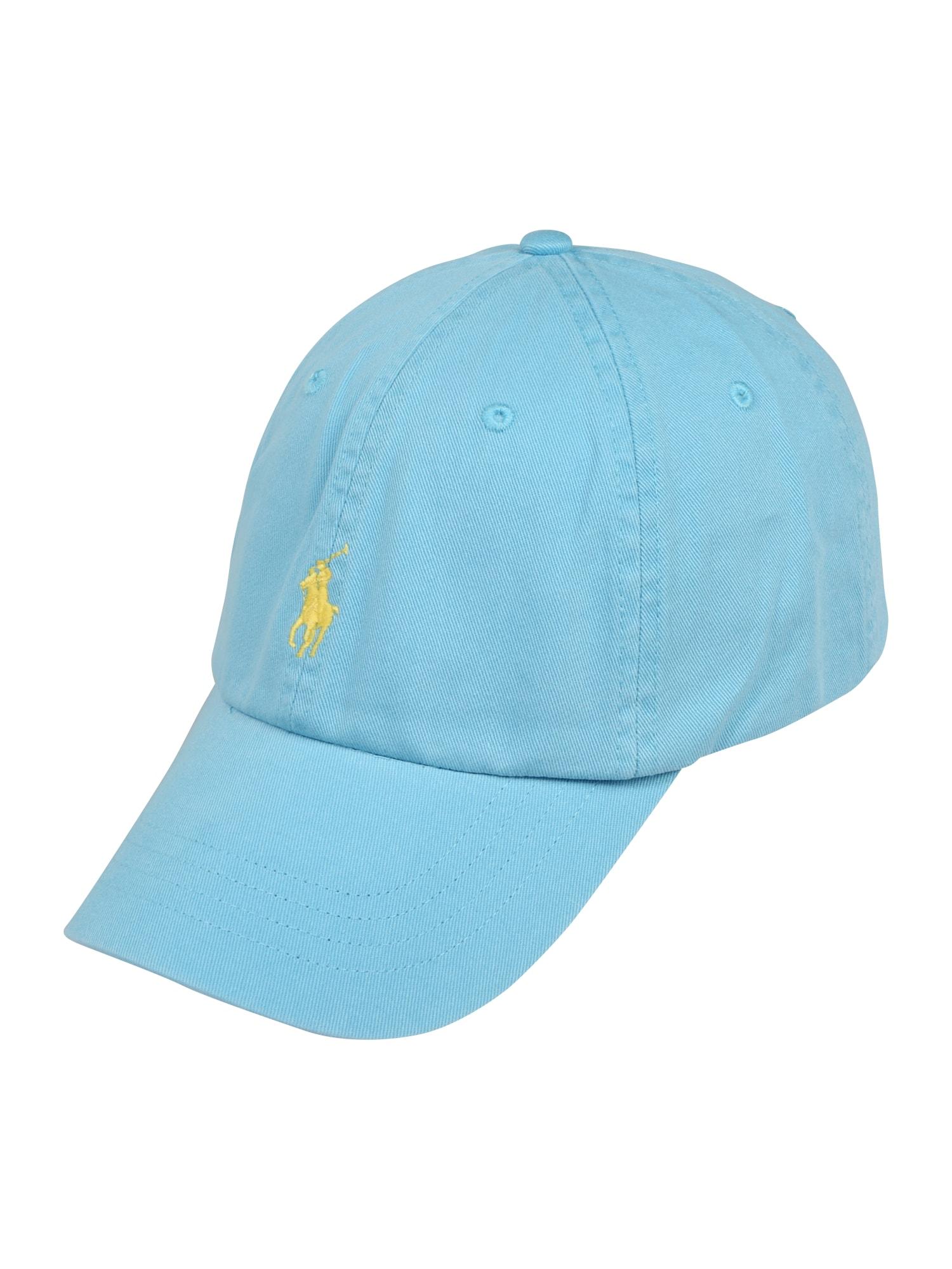 POLO RALPH LAUREN Kepurė geltona / šviesiai mėlyna