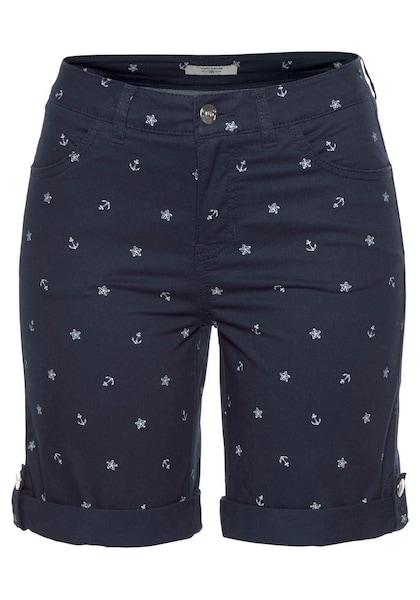 Hosen für Frauen - Shorts › Tom Tailor Polo Team › navy  - Onlineshop ABOUT YOU