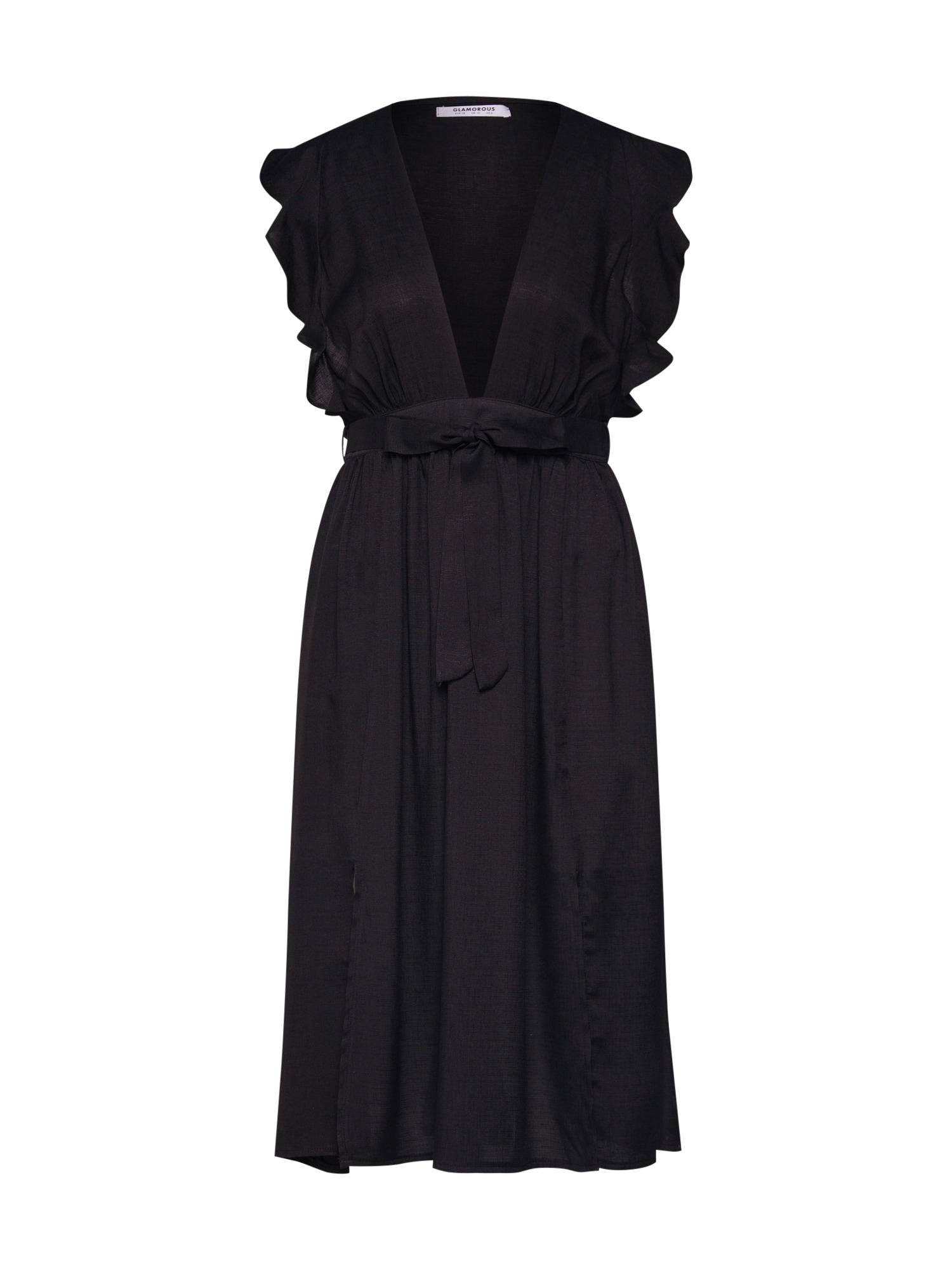 Šaty HP0239A černá GLAMOROUS