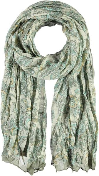 Schals für Frauen - Passigatti Polyester Schal beige grün  - Onlineshop ABOUT YOU