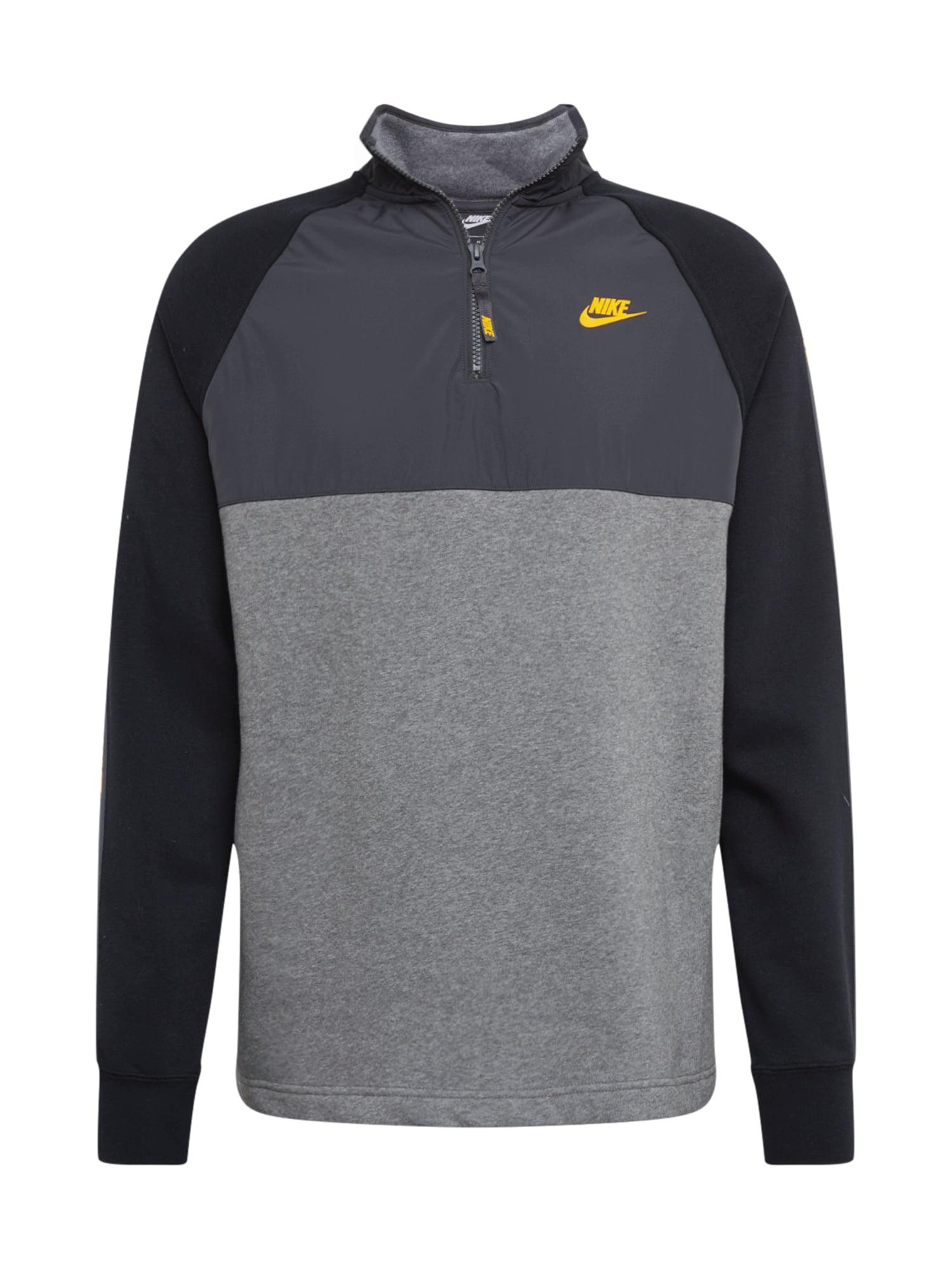 Nike Sportswear Tréning póló  sötétszürke