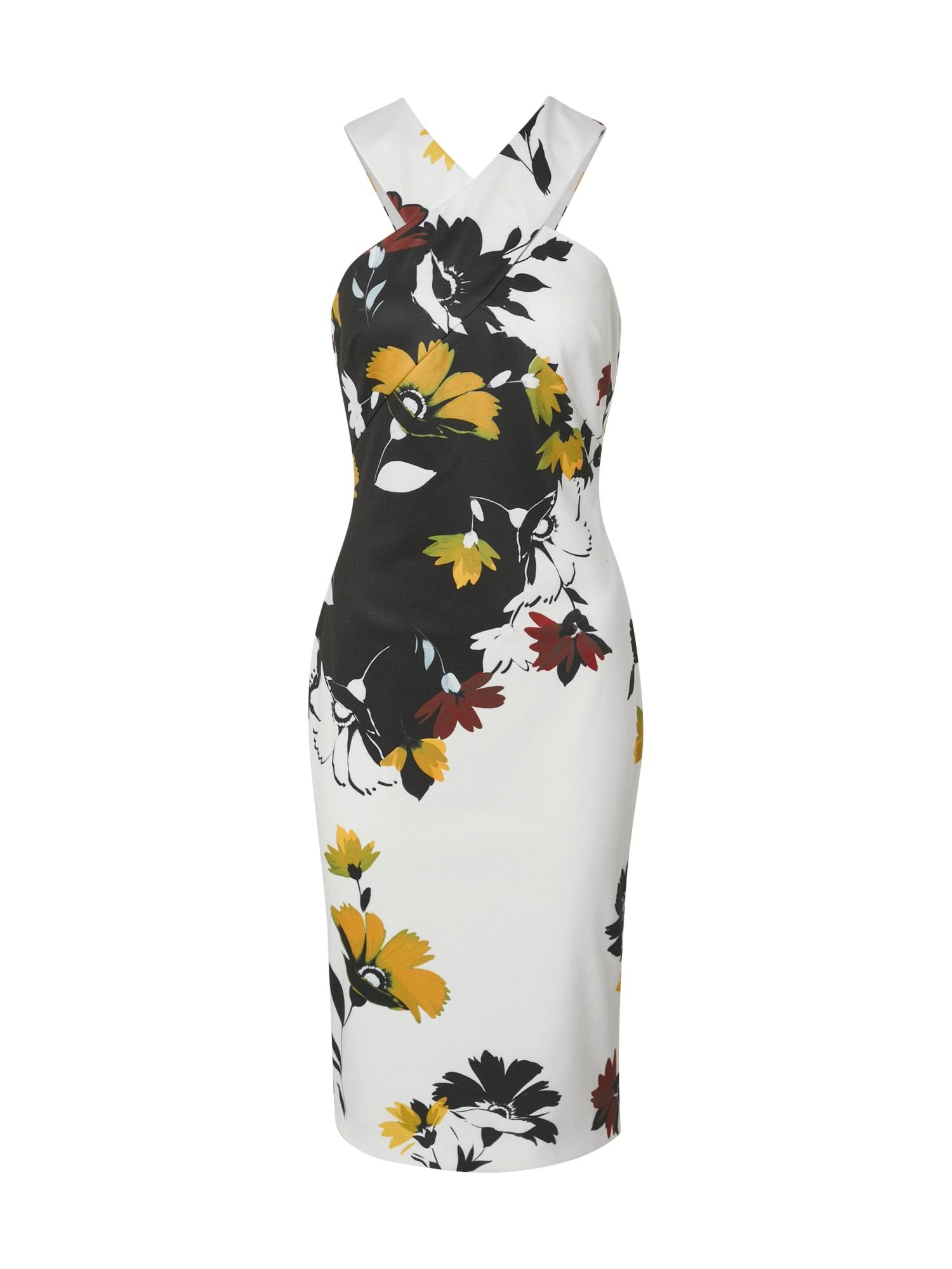 Ted Baker Kokteilinė suknelė 'YOLADI' mišrios spalvos / balta