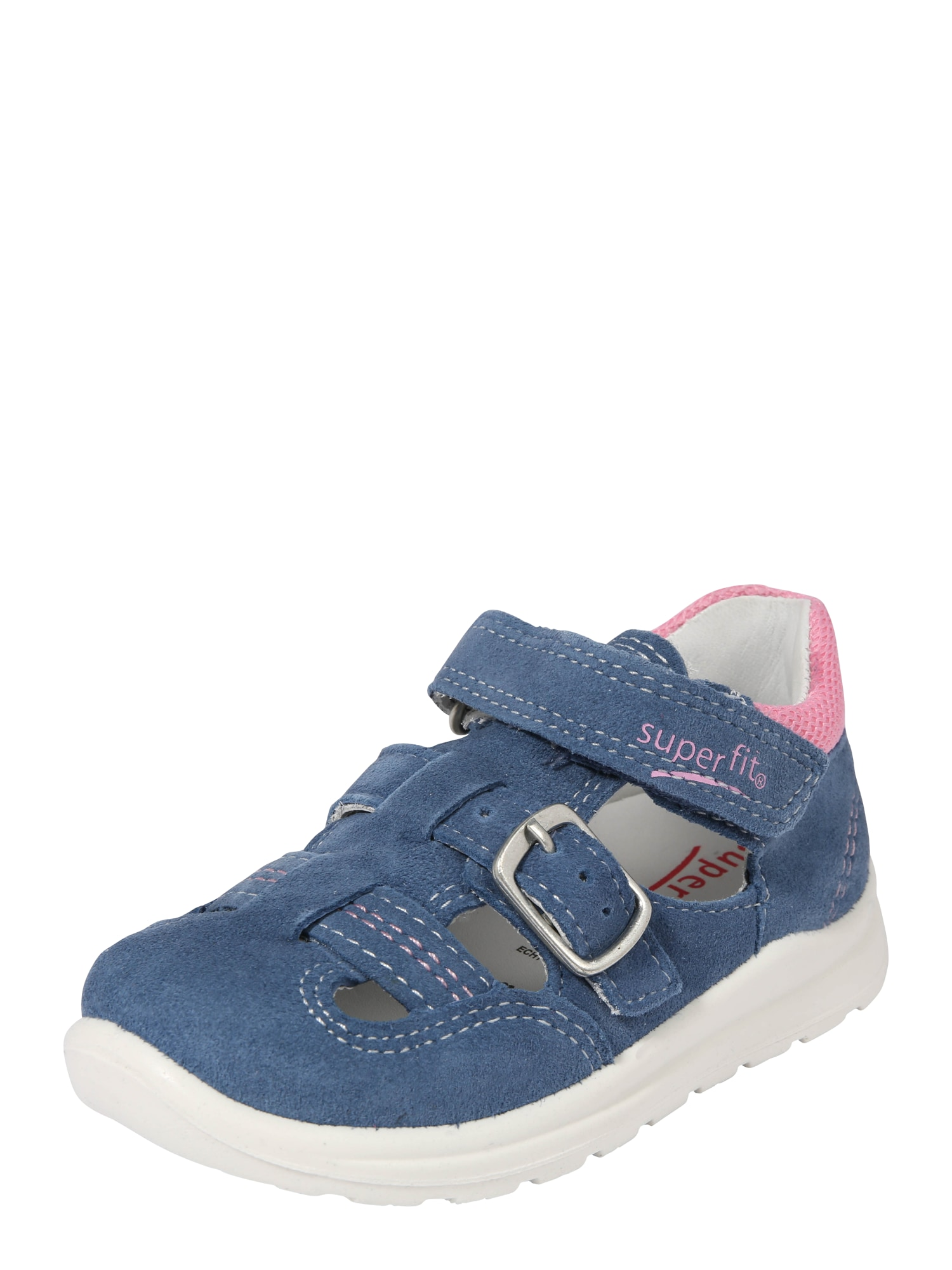 Otevřená obuv Mel modrá růžová SUPERFIT