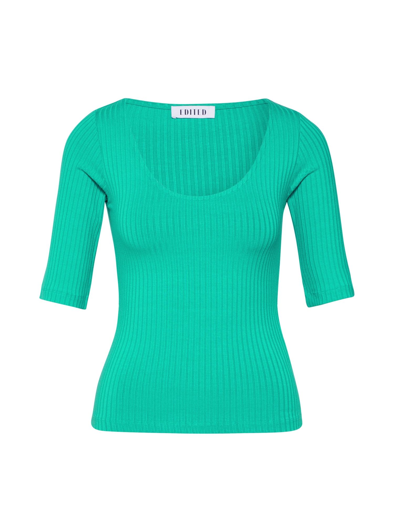 EDITED Marškinėliai 'Fray' žalia