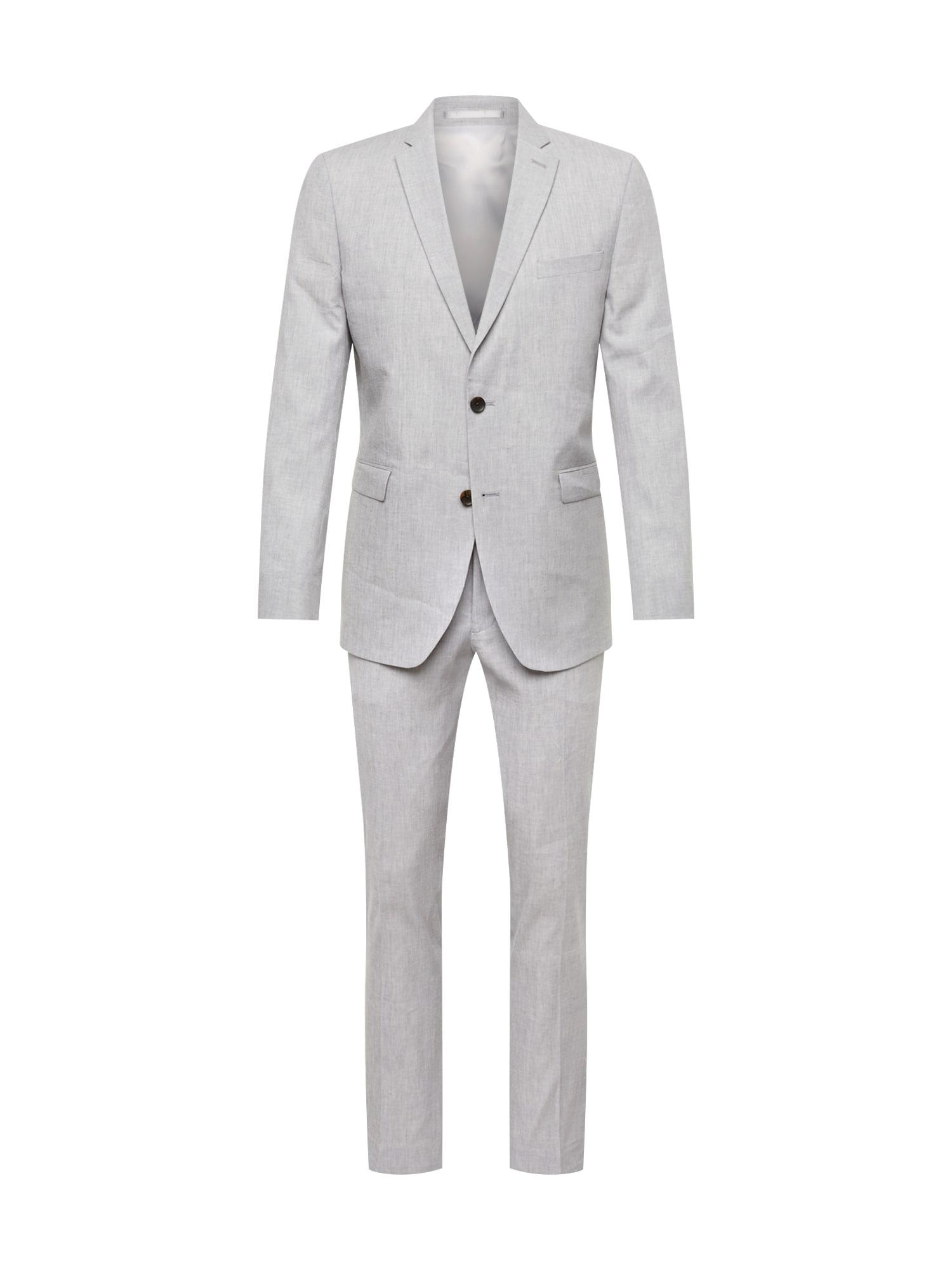Oblek Délavé světle šedá Esprit Collection