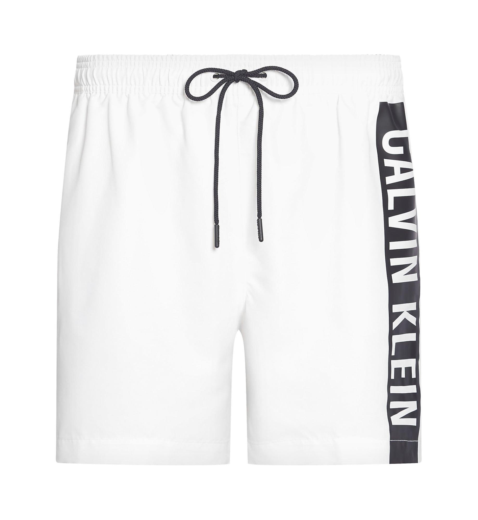 Calvin Klein Swimwear Plavecké šortky  bílá