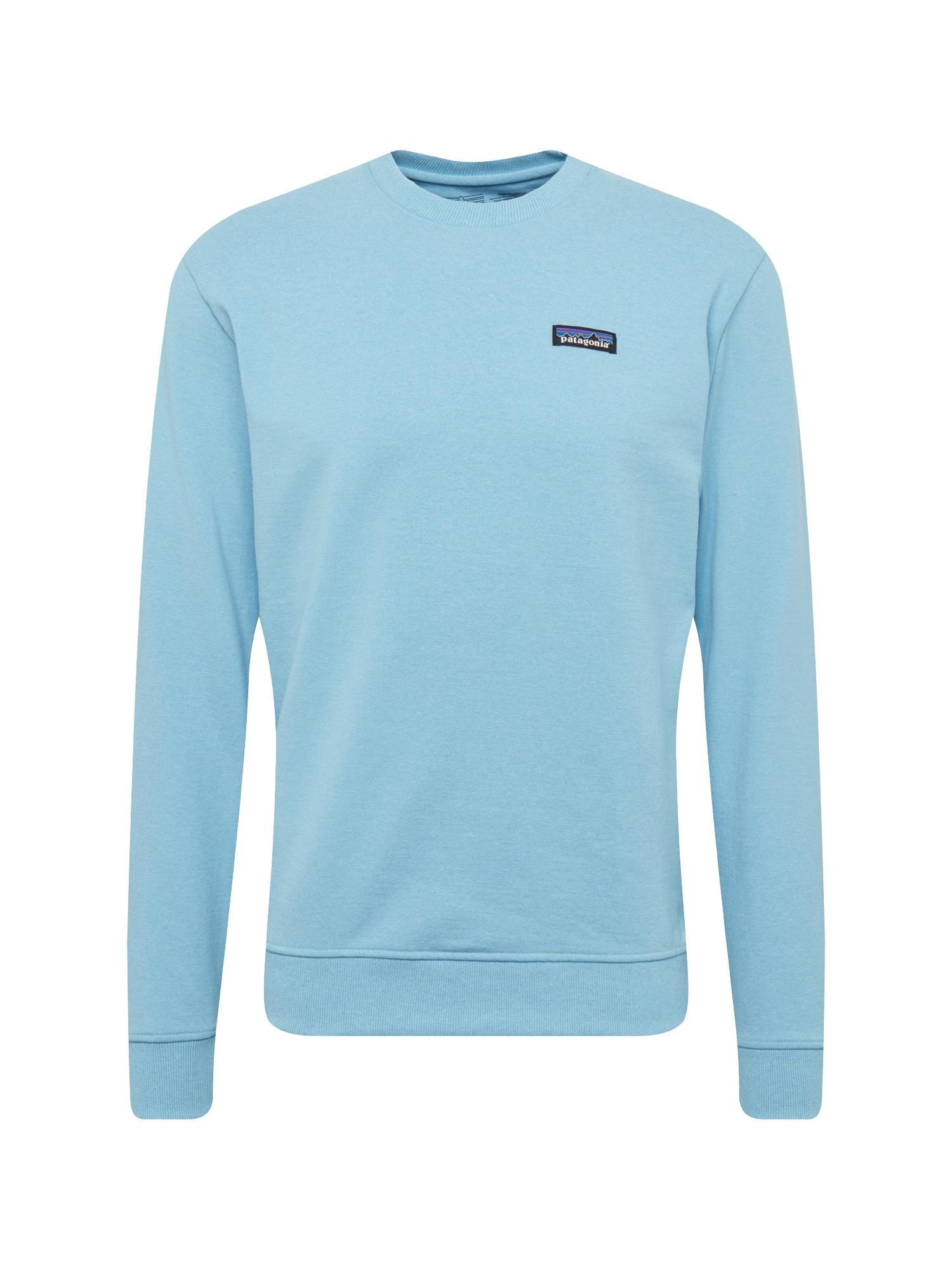 Mikina Ms P-6 Label Uprisal Crew Sweatshirt tmavě modrá PATAGONIA