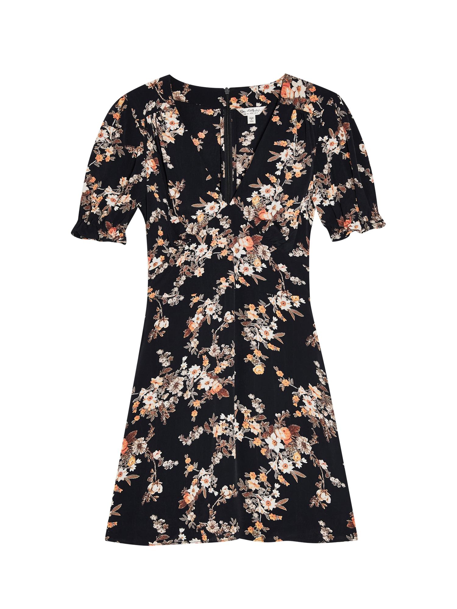 Miss Selfridge Rochie 'DITSY TEA DRESS'  culori mixte / negru