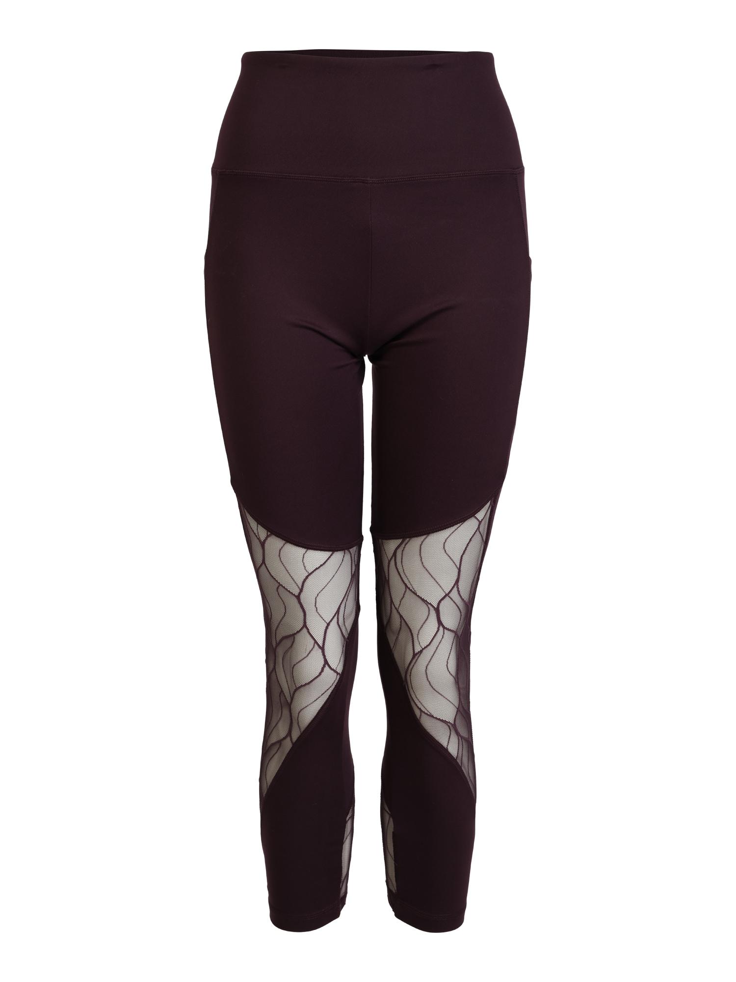 Sportovní kalhoty ARABELLA tmavě fialová průhledná Marika