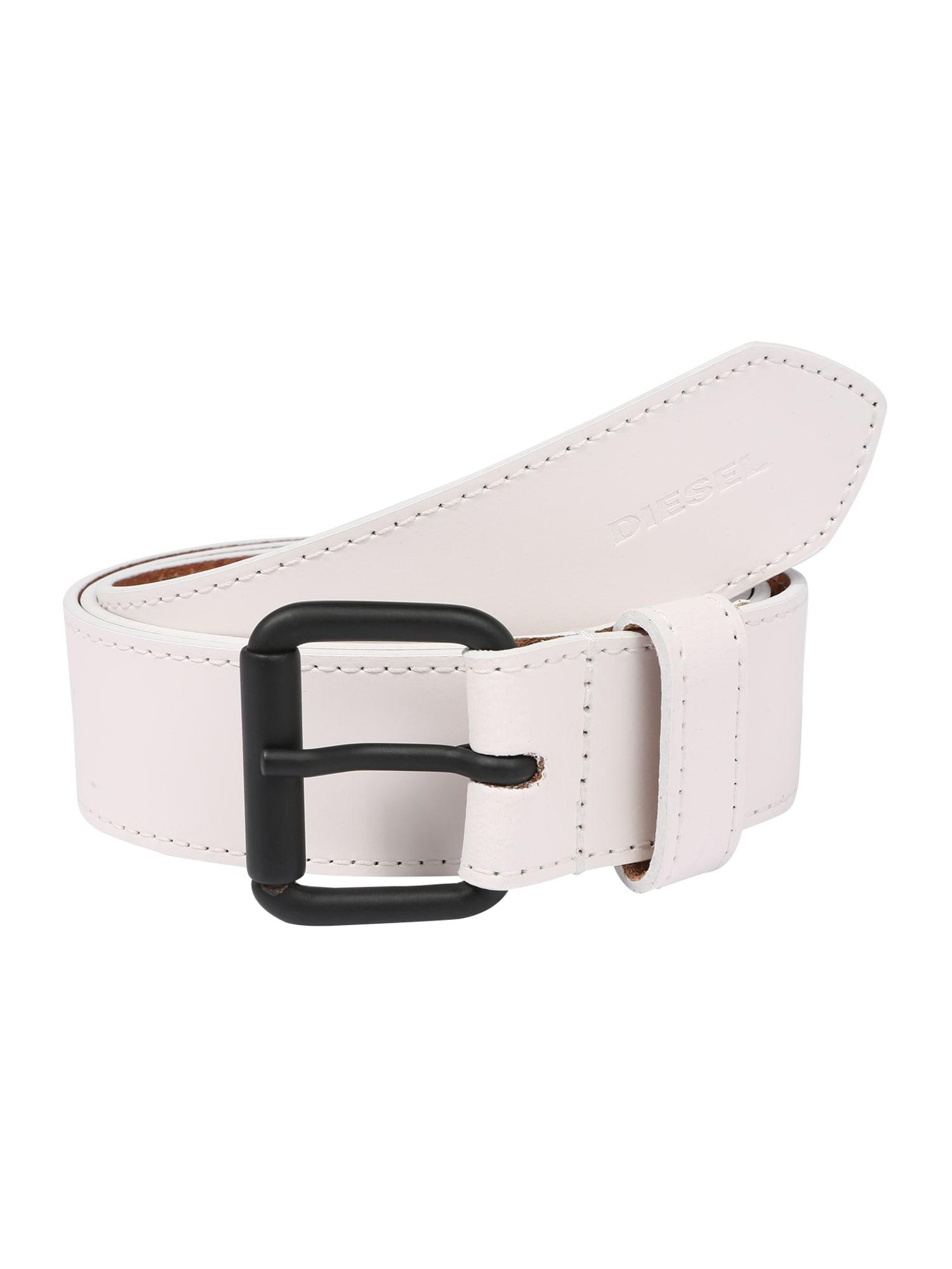 DIESEL Opasky ' B-TRACY belt'  biela