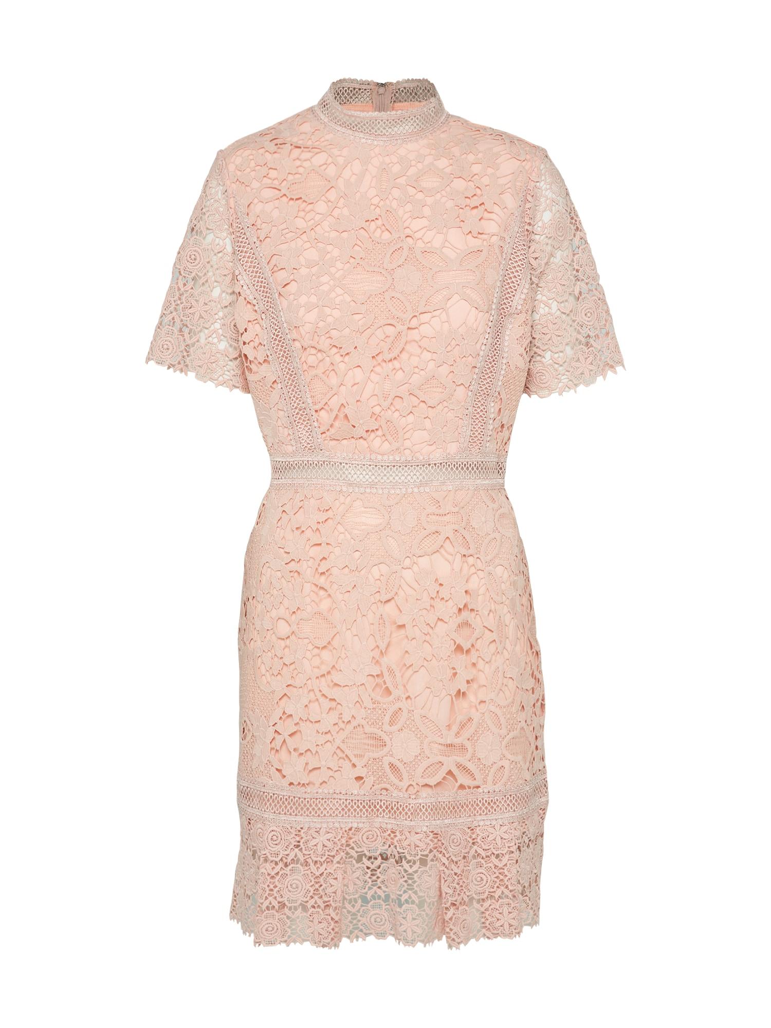 Koktejlové šaty růžová True Decadence