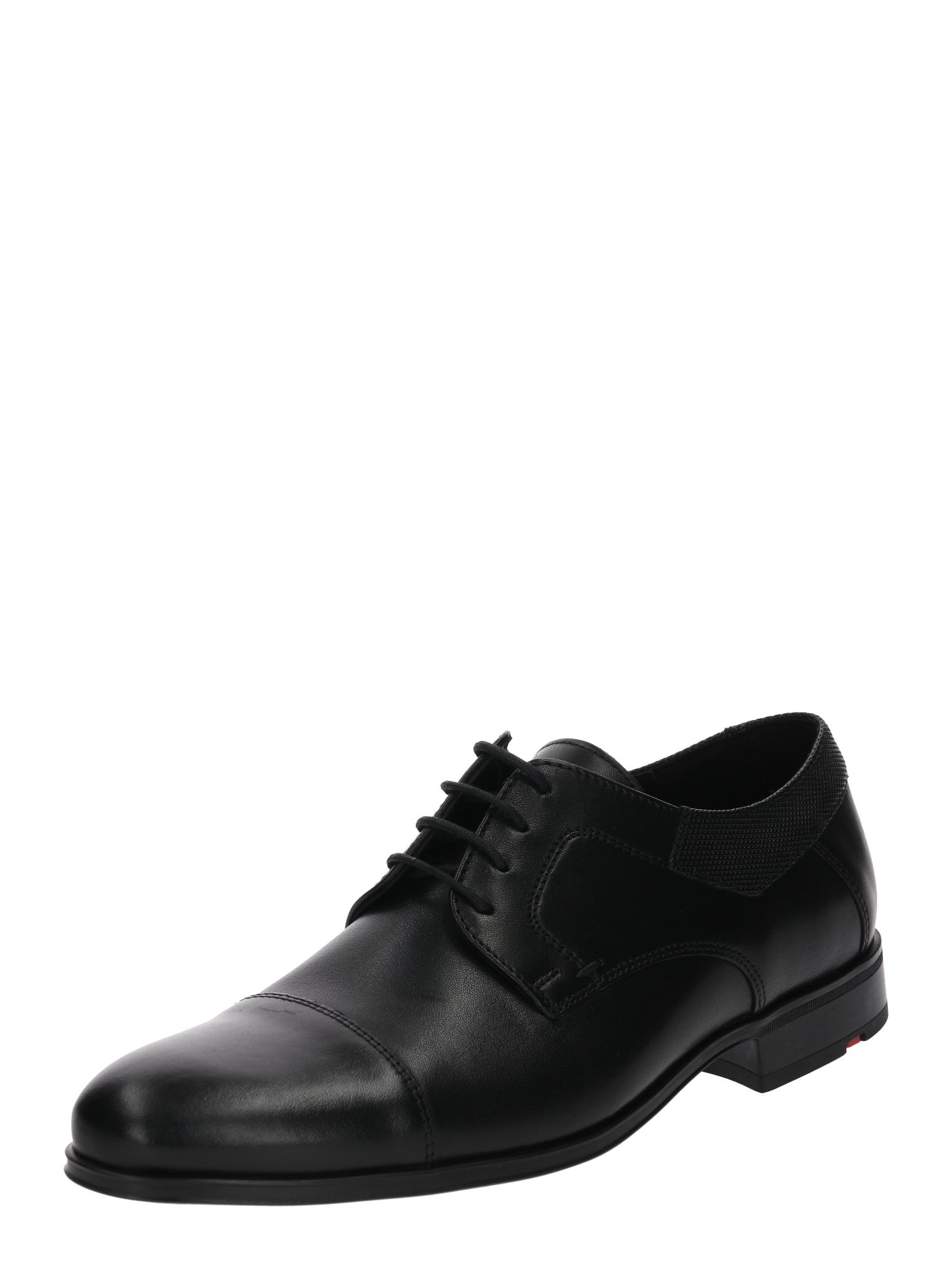 Šněrovací boty LALFA černá LLOYD