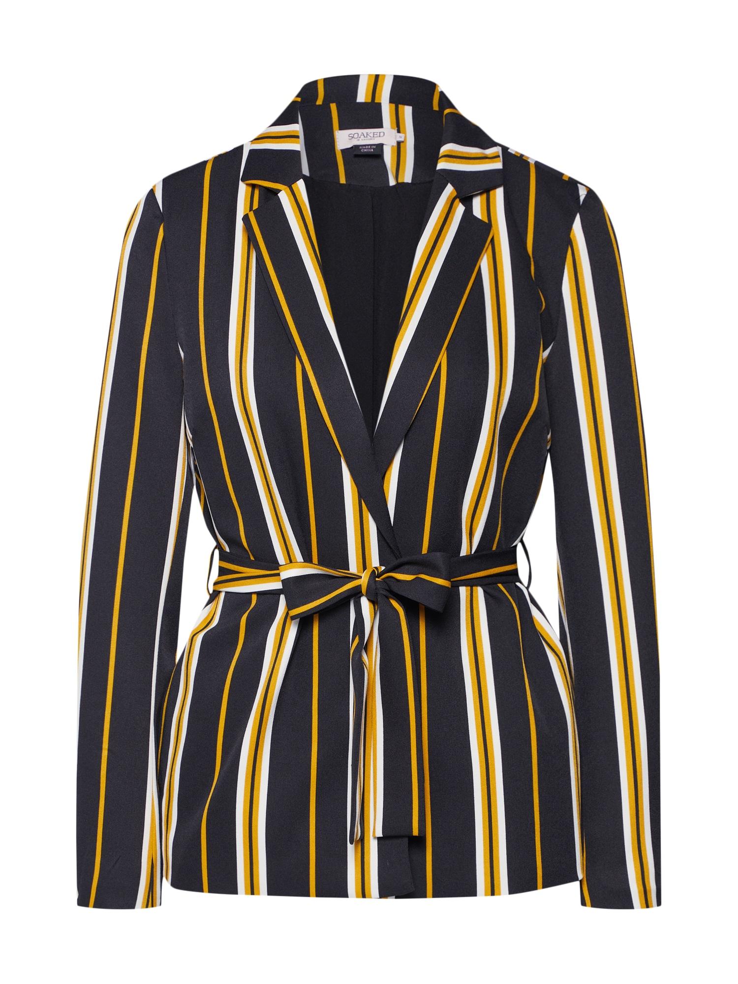 Blejzr Malia Jacket béžová žlutá černá SOAKED IN LUXURY