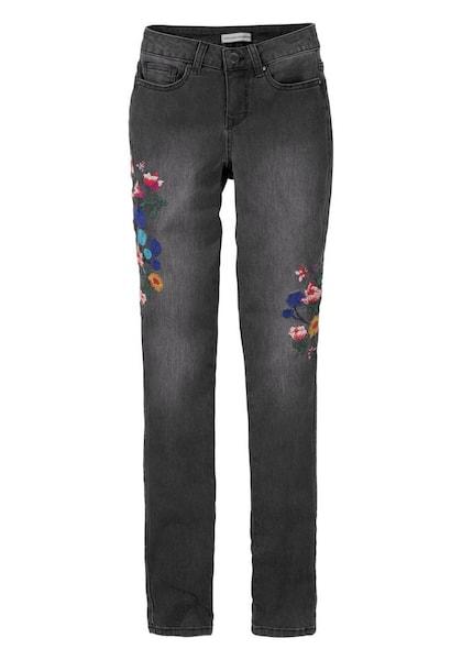 Hosen für Frauen - Jeans › Guido Maria Kretschmer › mischfarben black denim  - Onlineshop ABOUT YOU