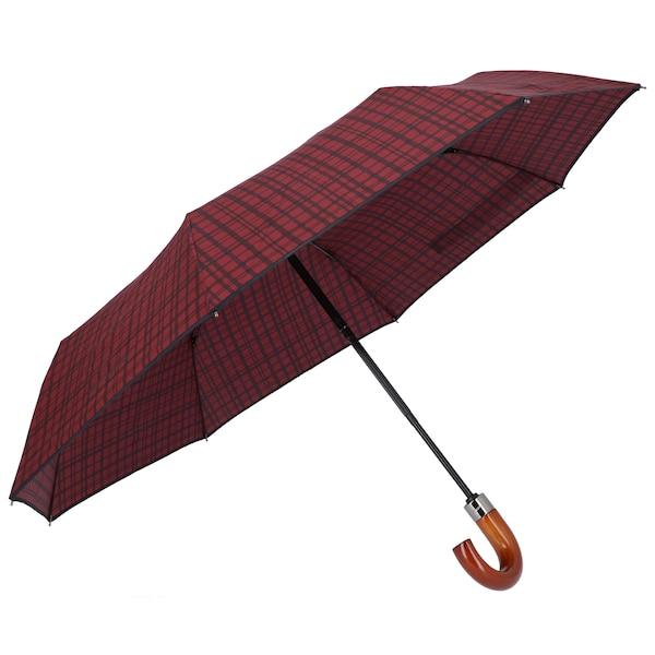 Regenschirme für Frauen - SAMSONITE Regenschirm 'Wood Classic S' rot schwarz  - Onlineshop ABOUT YOU