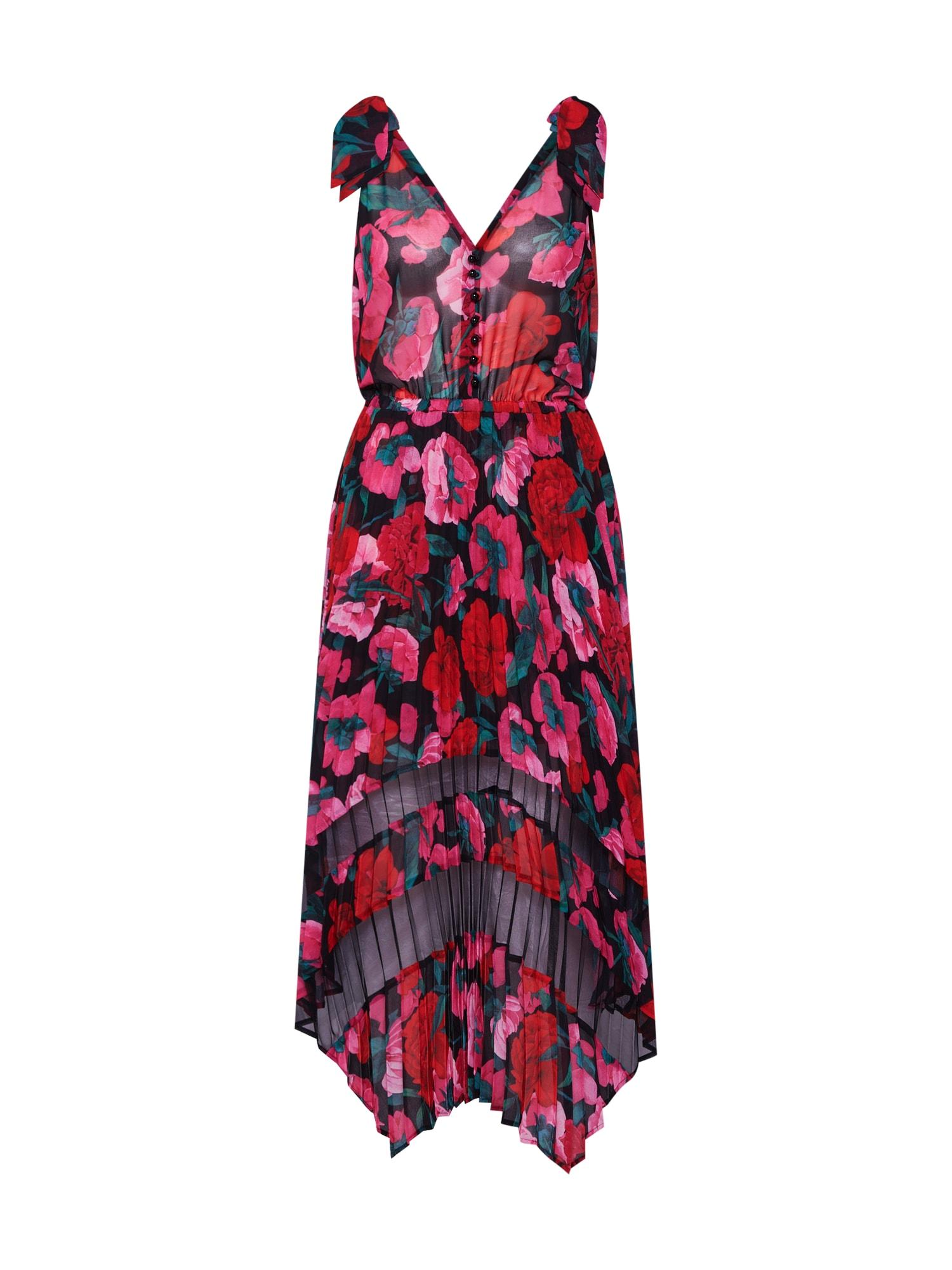 Šaty FROB18145K červená černá The Kooples