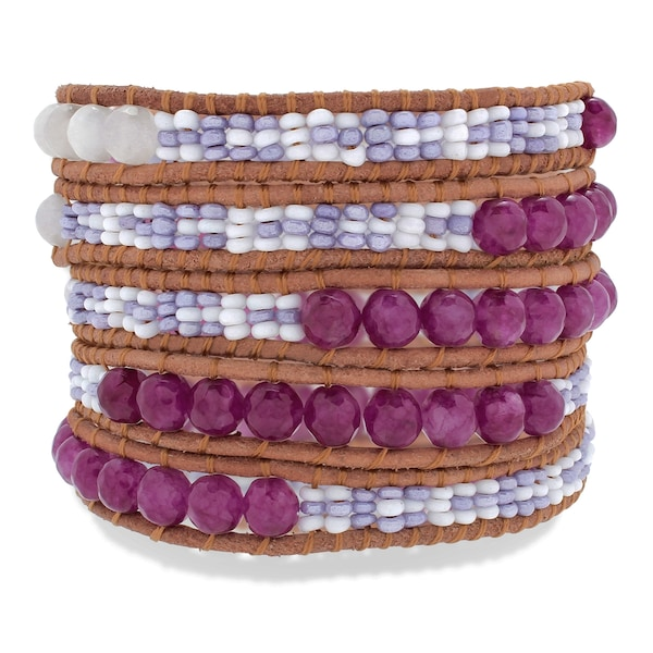 Armbaender - Armband › Rafaela Donata › braun lila weiß  - Onlineshop ABOUT YOU