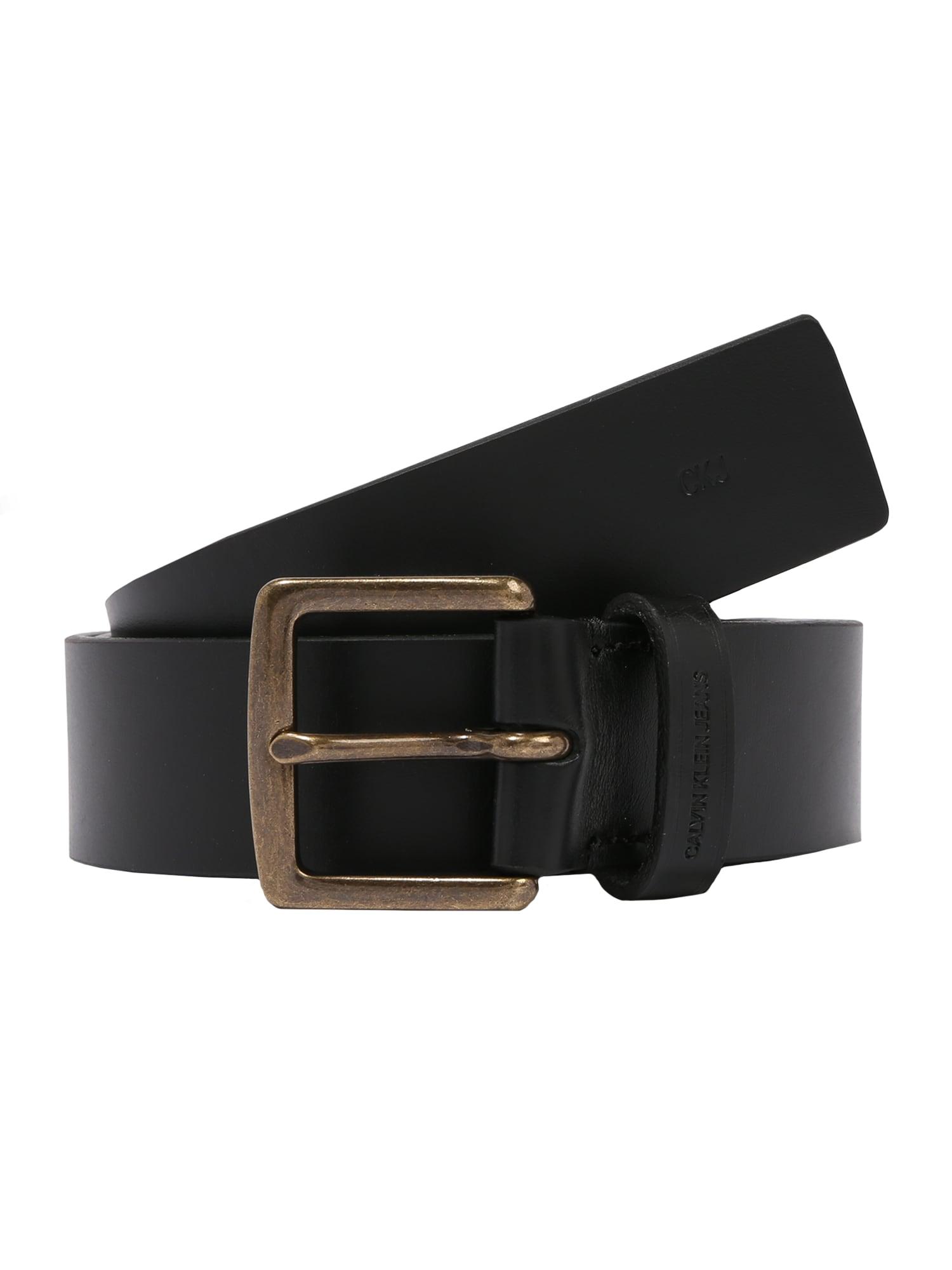 Calvin Klein Jeans Opasky 'CKJ CLASSIC 35MM'  čierna