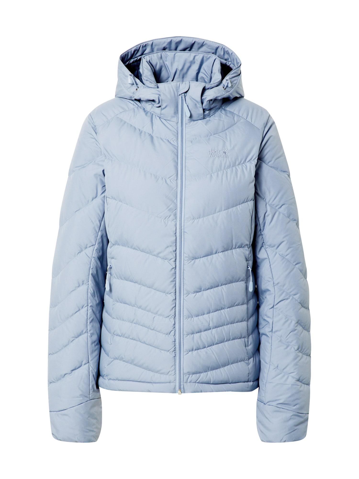 JACK WOLFSKIN Outdoorová bunda 'Selenium'  modrá