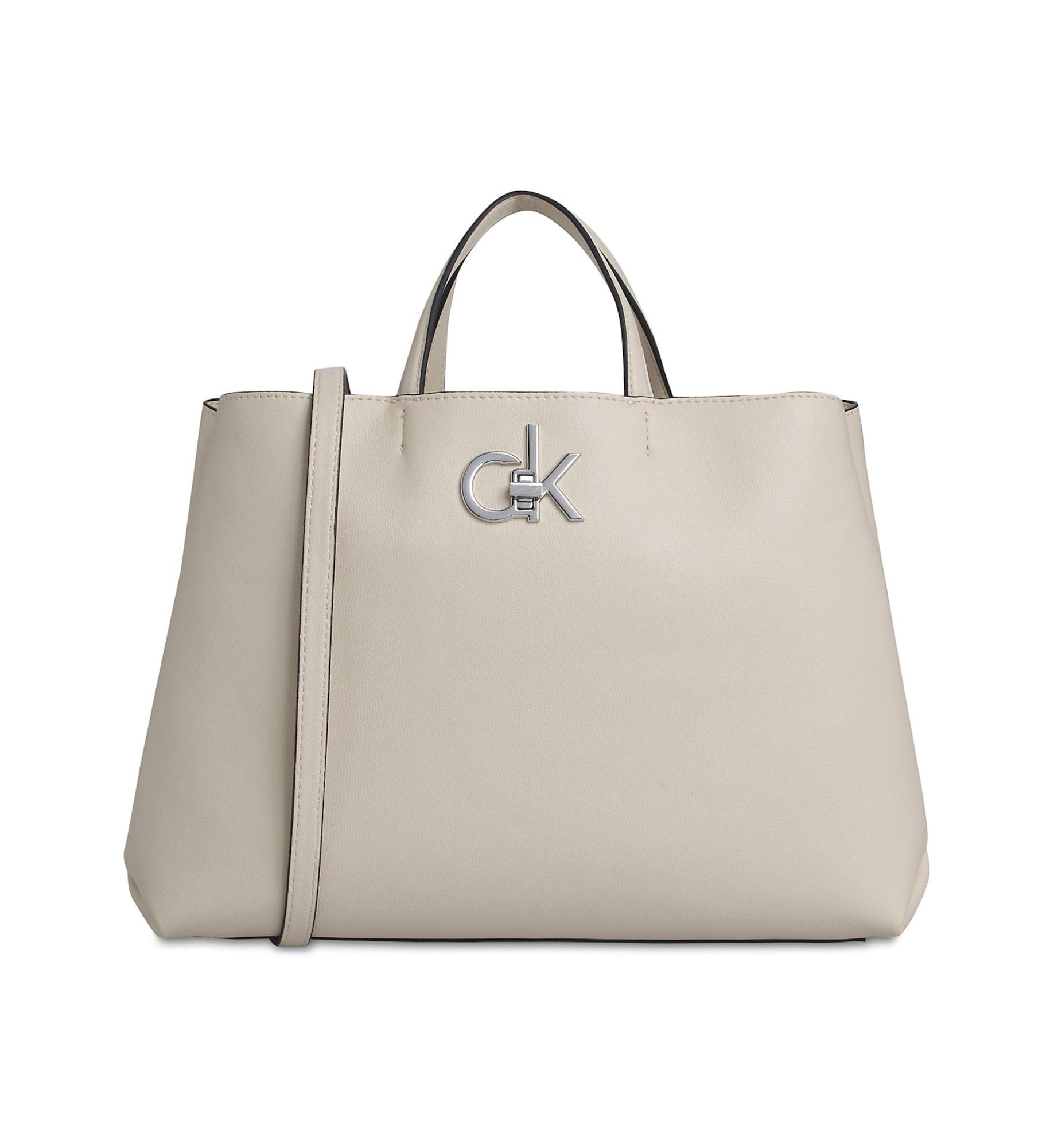 Calvin Klein Pirkinių krepšys smėlio