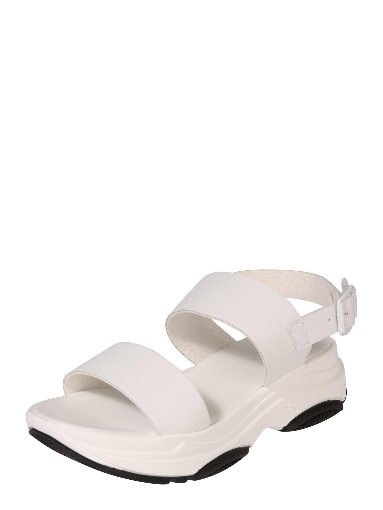 Páskové sandály Biaalia bílá Bianco
