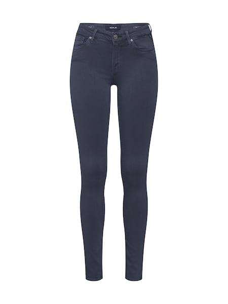 Hosen für Frauen - Jeans 'LUZ Hyperflex COLOR' › Replay › grau  - Onlineshop ABOUT YOU