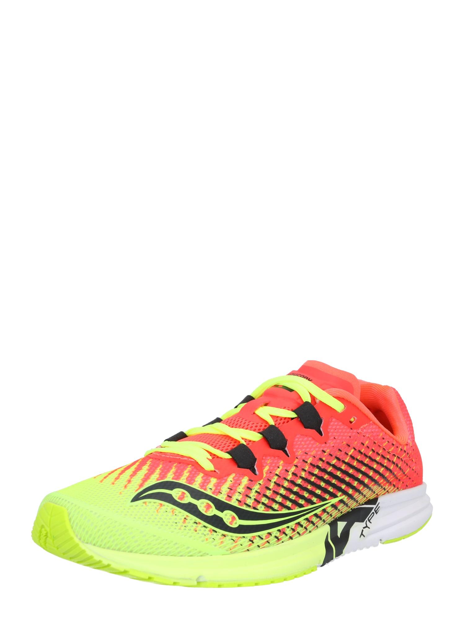 saucony Bežecká obuv 'TYPE A9 '  neónová žltá / ružová