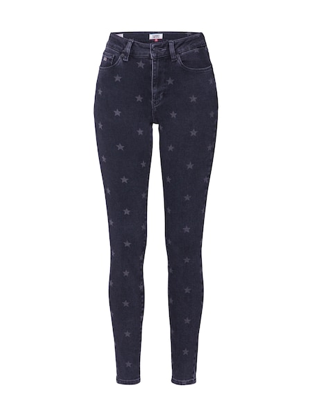 Hosen - Jeans 'Super Skinny TJ 2008' › Tommy Jeans › grau black denim  - Onlineshop ABOUT YOU