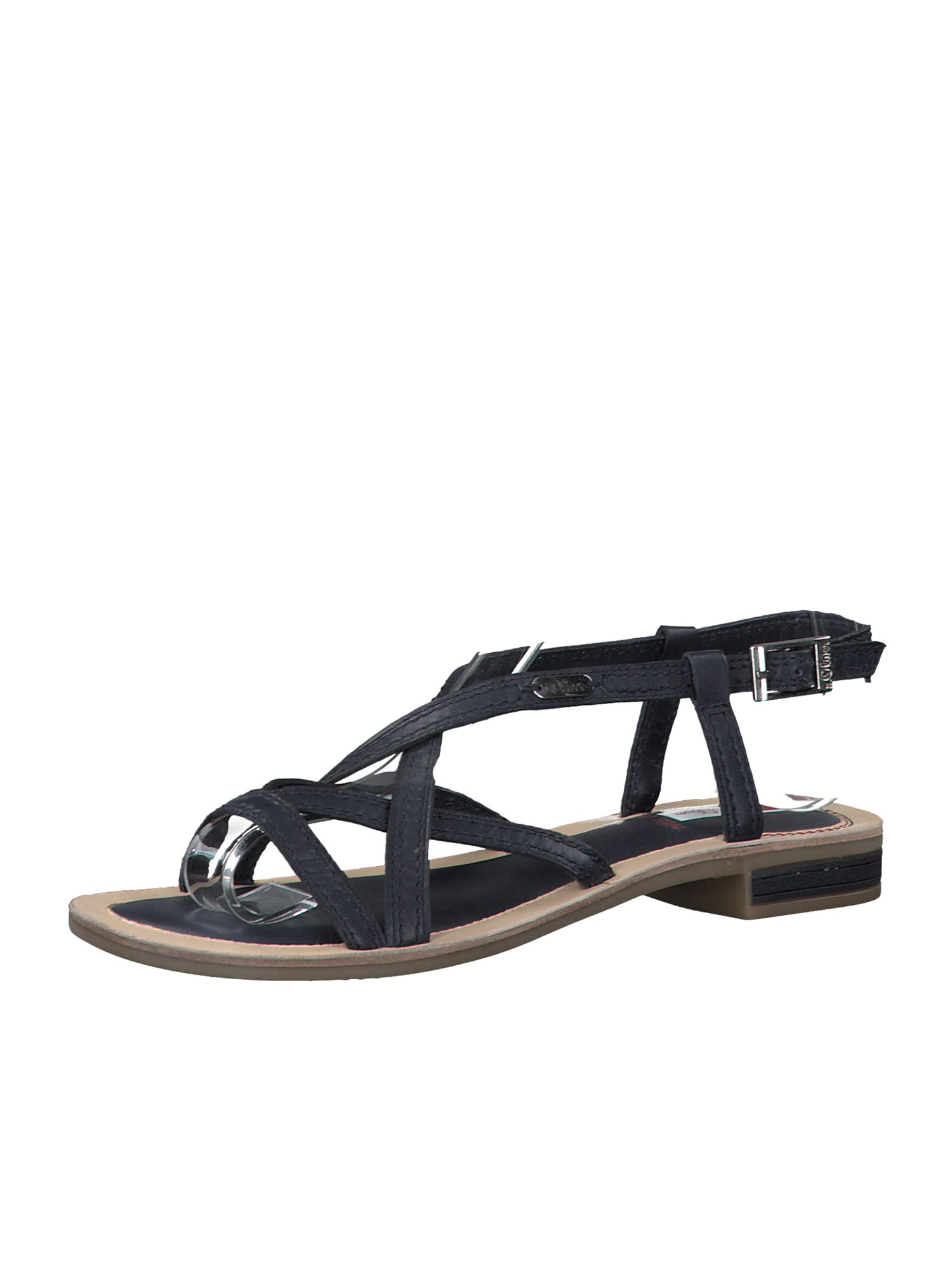 s.Oliver Páskové sandály  námořnická modř