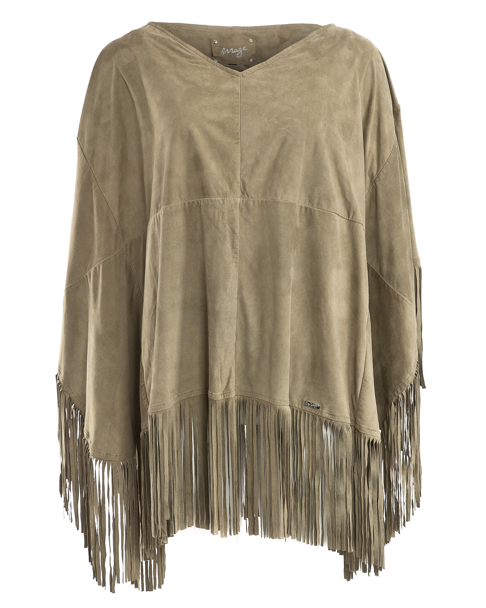 Poncho 'Curico' | Bekleidung > Pullover > Ponchos & Capes | Maze